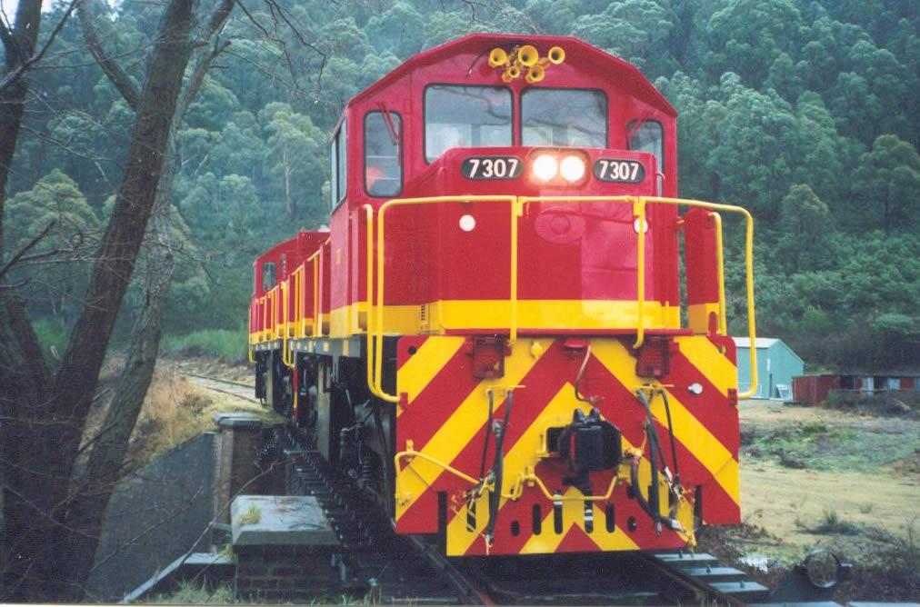 Locos 7307 and 7321 (Photo ©Jason McIntyre)