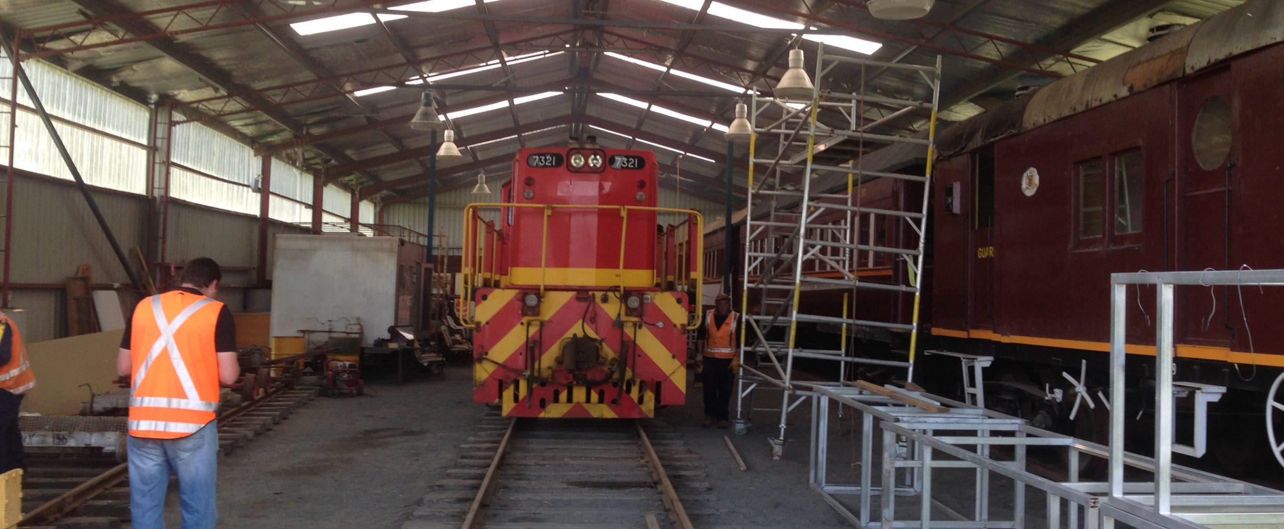 Home Oberon Tarana Heritage Railway 2