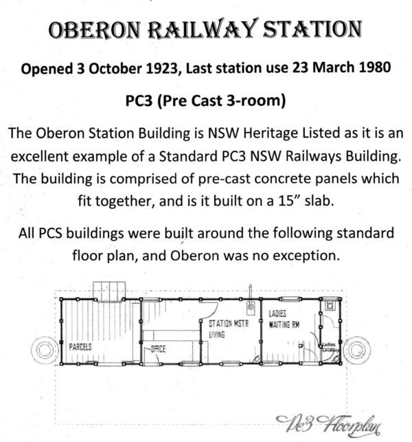 Historic Buildings Oberon Tarana Heritage Railway 1
